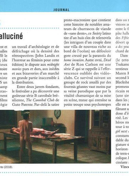 Cahiers du cinéma - Novembre 2018
