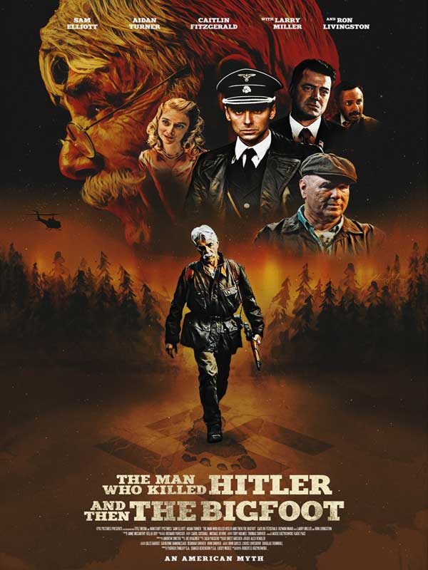 Hitler-Bigfoot---Poster
