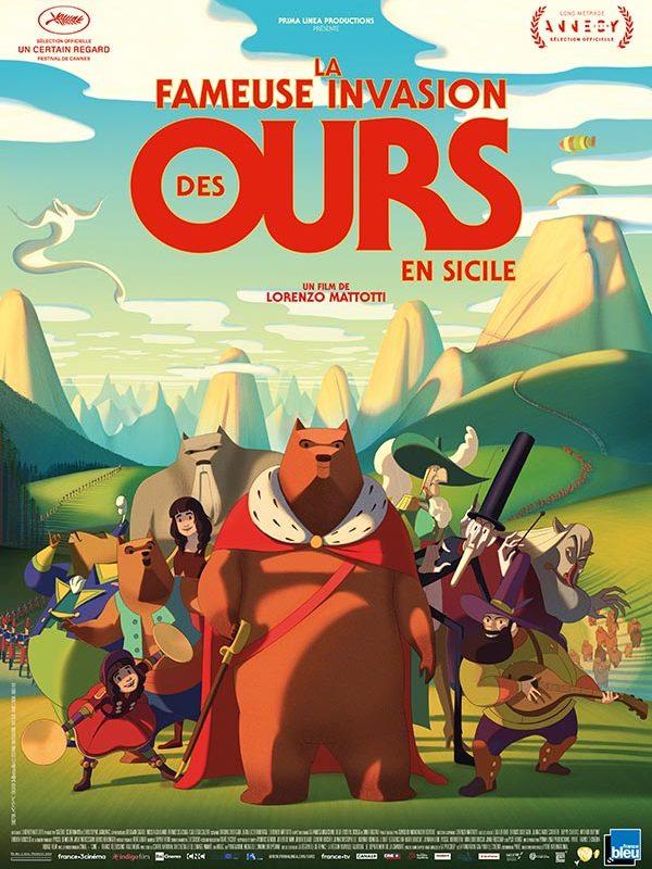 La-fameuse-invasion-des-ours-de-Sicile---Poster