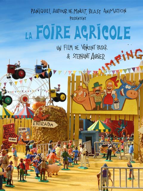 La foire agricole - Poster